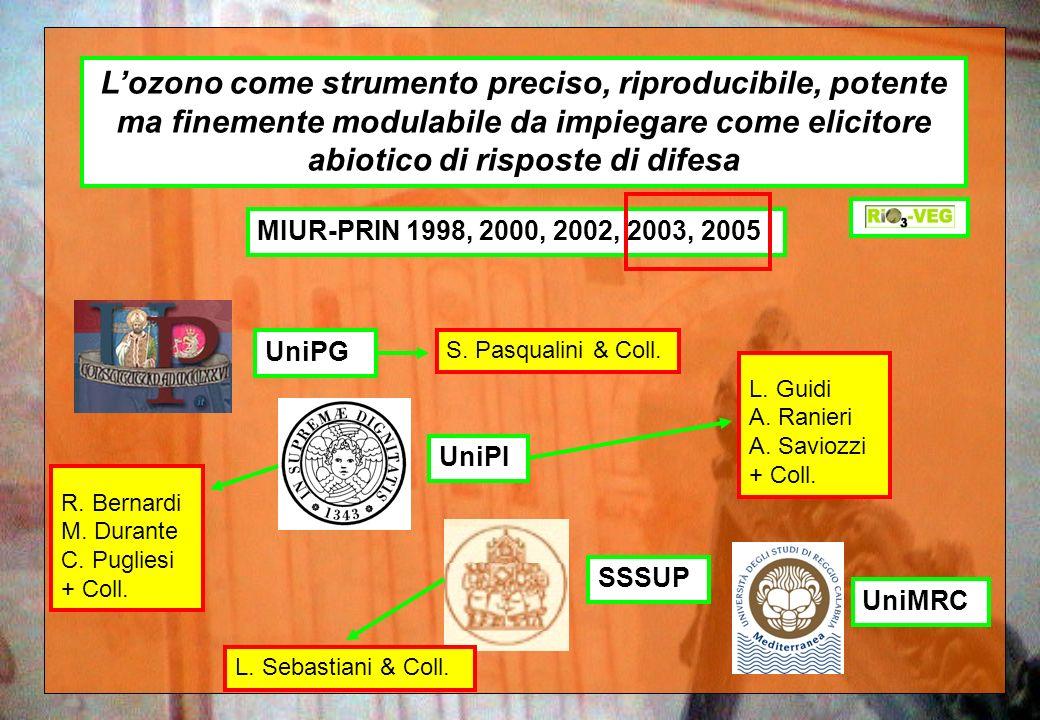 L'ozono come strumento preciso, riproducibile, potente ma finemente modulabile da impiegare come elicitore abiotico di risposte di difesa