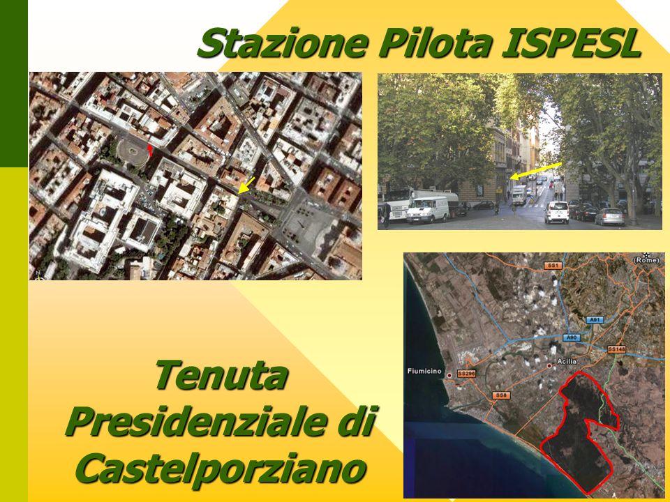 Stazione Pilota ISPESL Tenuta Presidenziale di Castelporziano