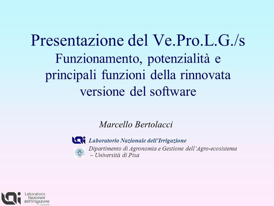 Presentazione del Ve. Pro. L. G