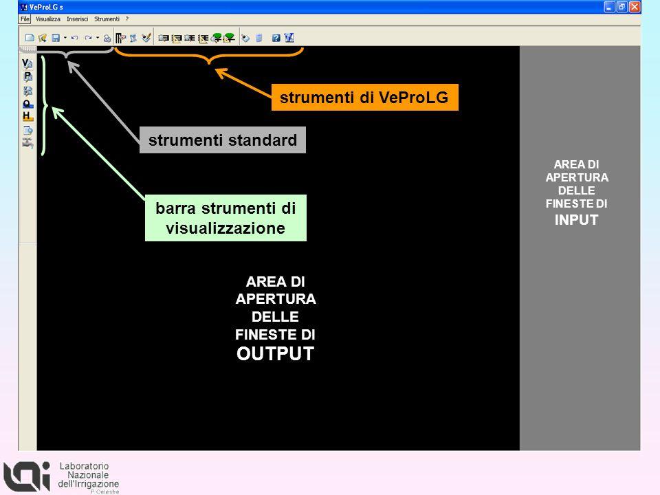 barra strumenti di visualizzazione