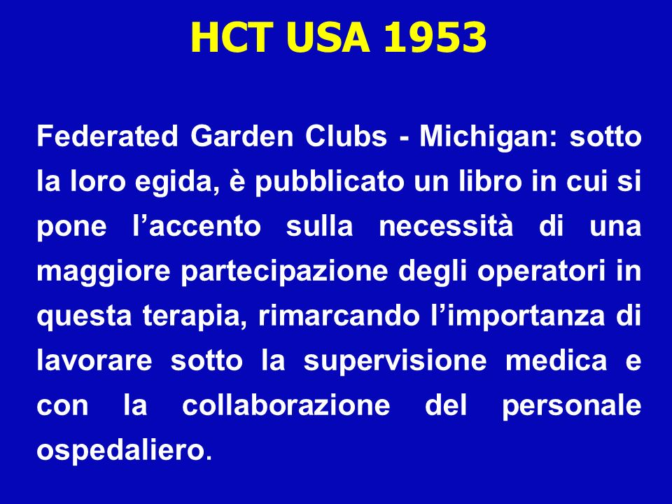 HCT USA 1953