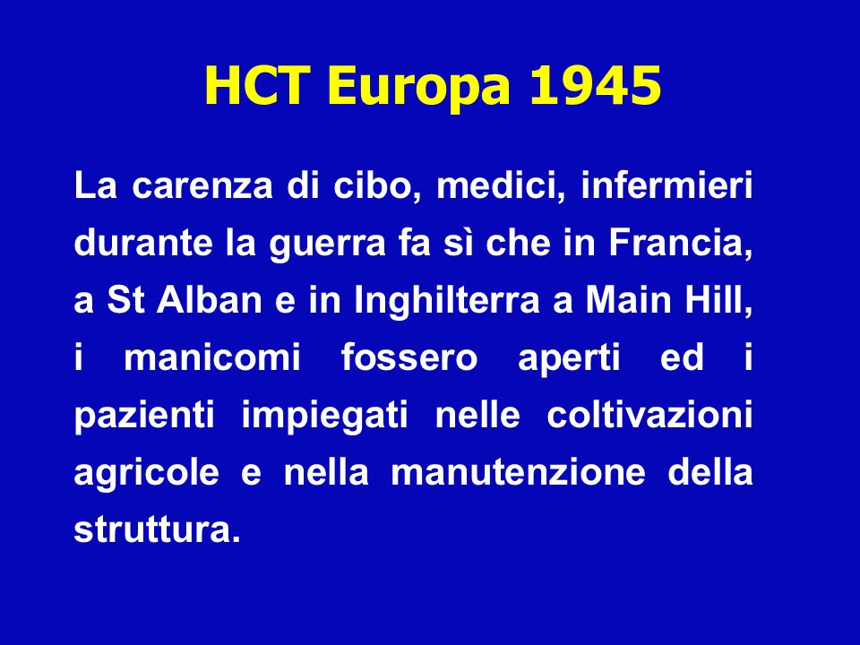HCT Europa 1945
