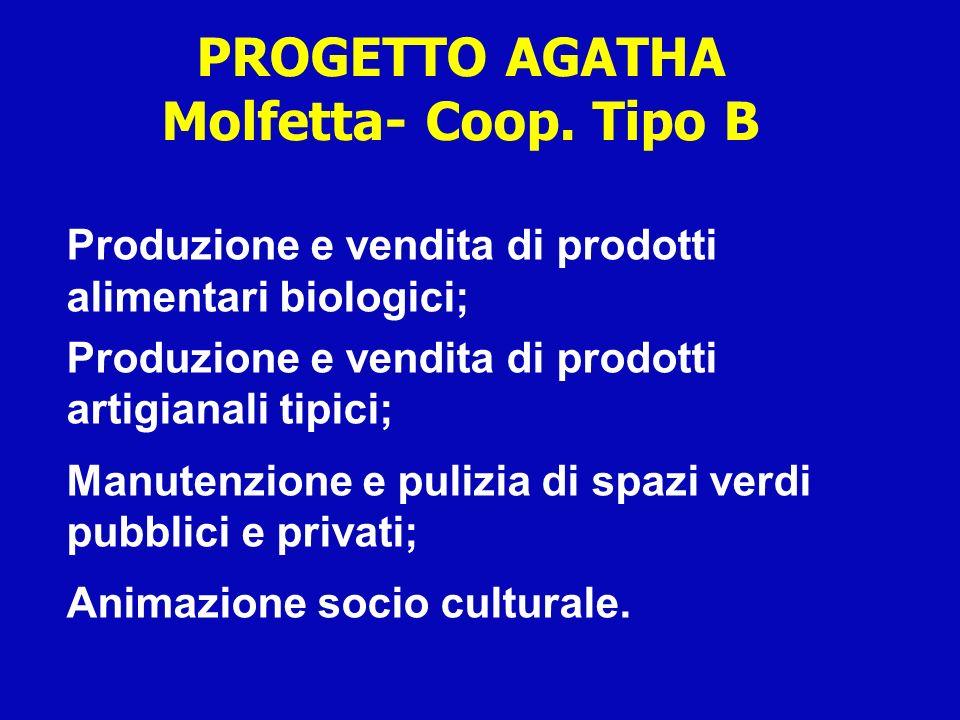 PROGETTO AGATHA Molfetta- Coop. Tipo B