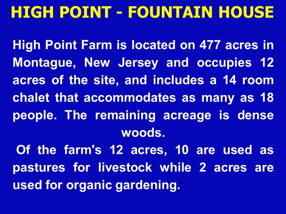 HIGH POINT - FOUNTAIN HOUSE