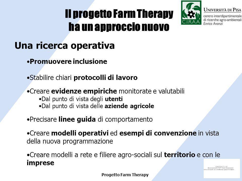 Il progetto Farm Therapy