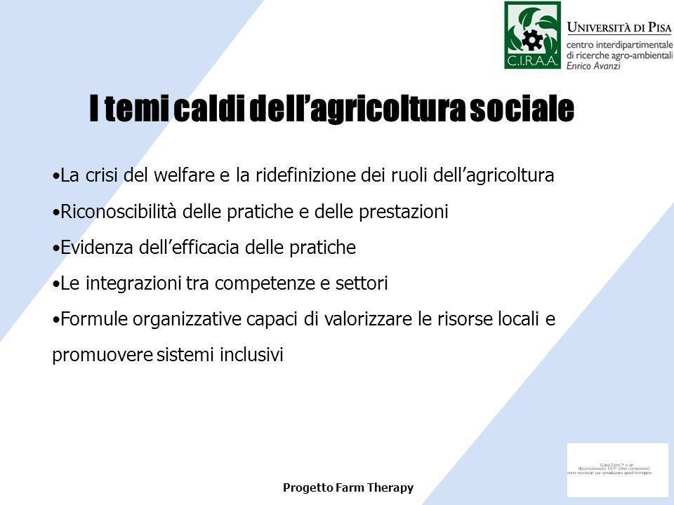 I temi caldi dell'agricoltura sociale