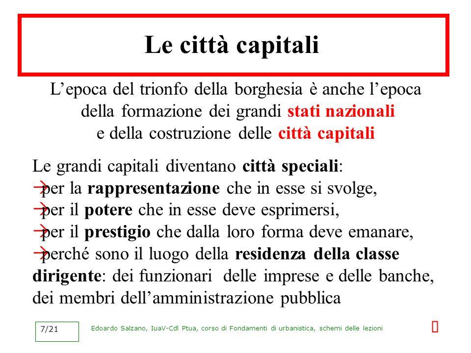 Le città capitali