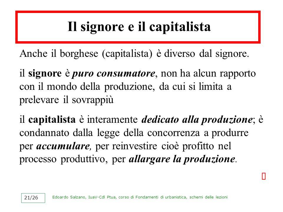 Il signore e il capitalista