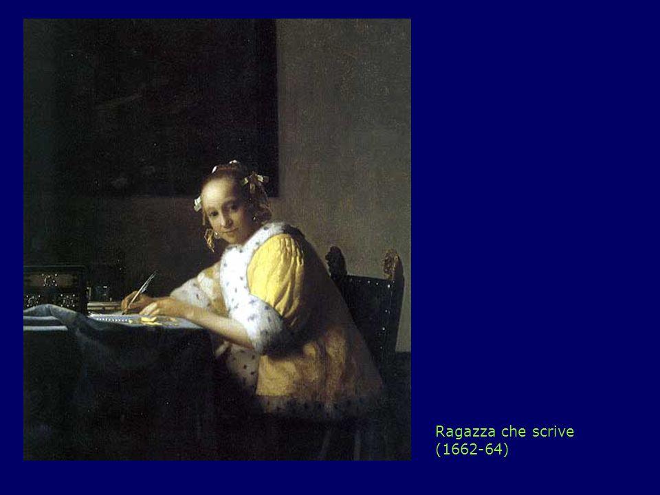Ragazza che scrive (1662-64)