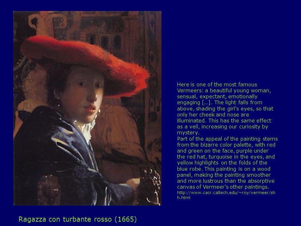 Ragazza con turbante rosso (1665)