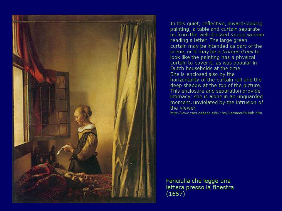 Fanciulla che legge una lettera presso la finestra (1657)