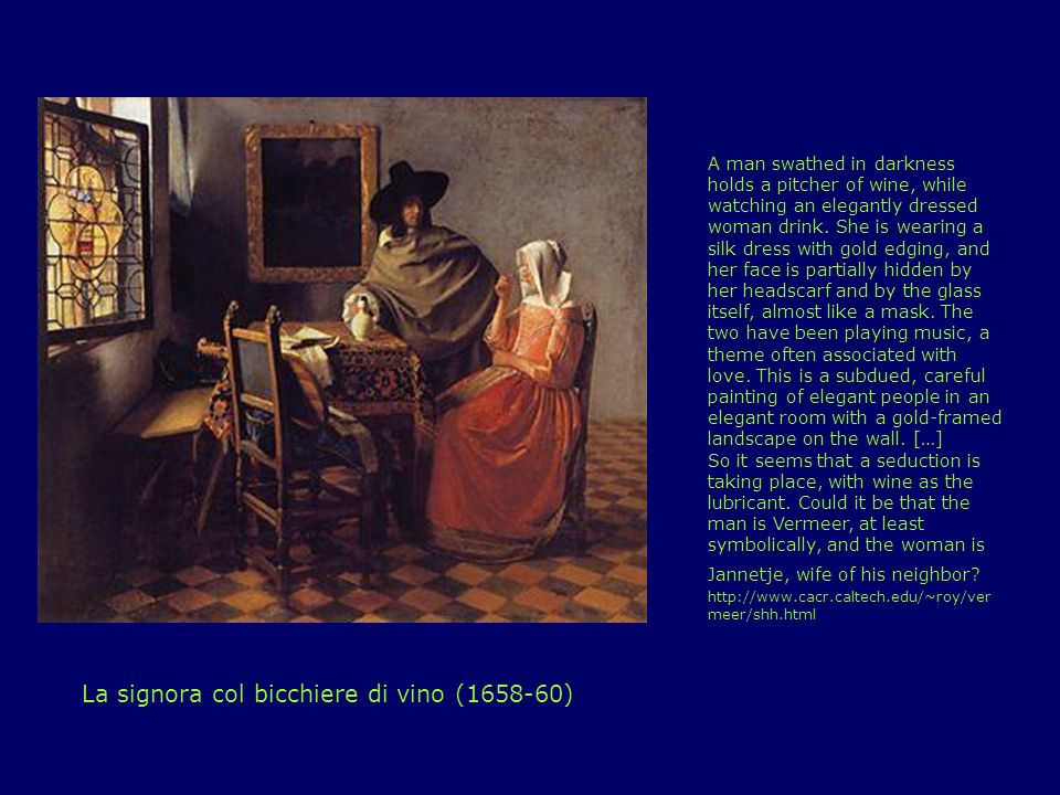 La signora col bicchiere di vino (1658-60)