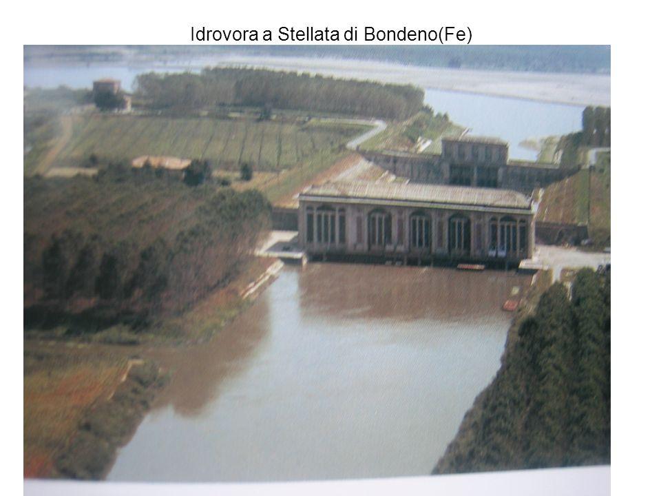 Idrovora a Stellata di Bondeno(Fe)