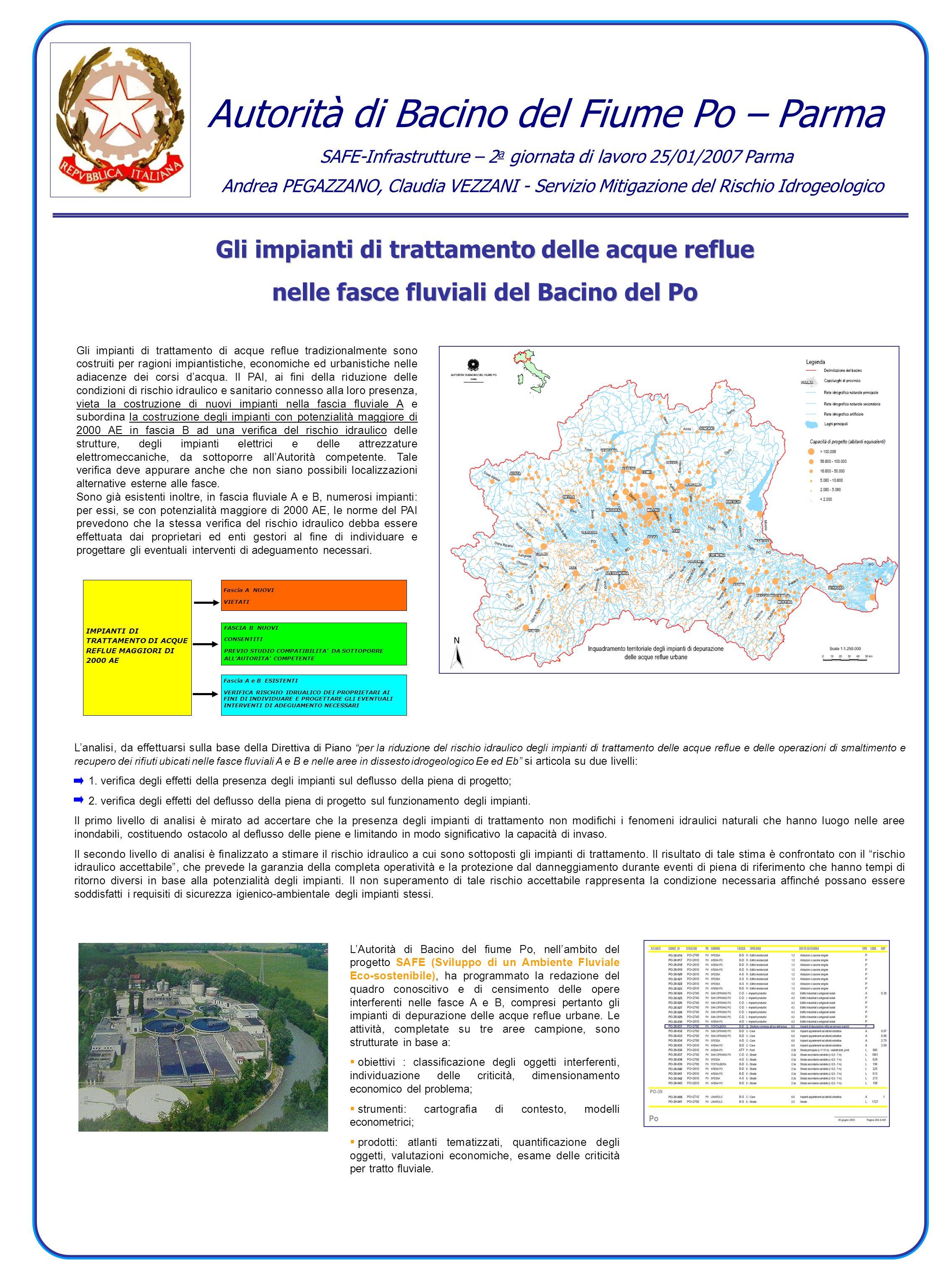 Autorità di Bacino del Fiume Po – Parma