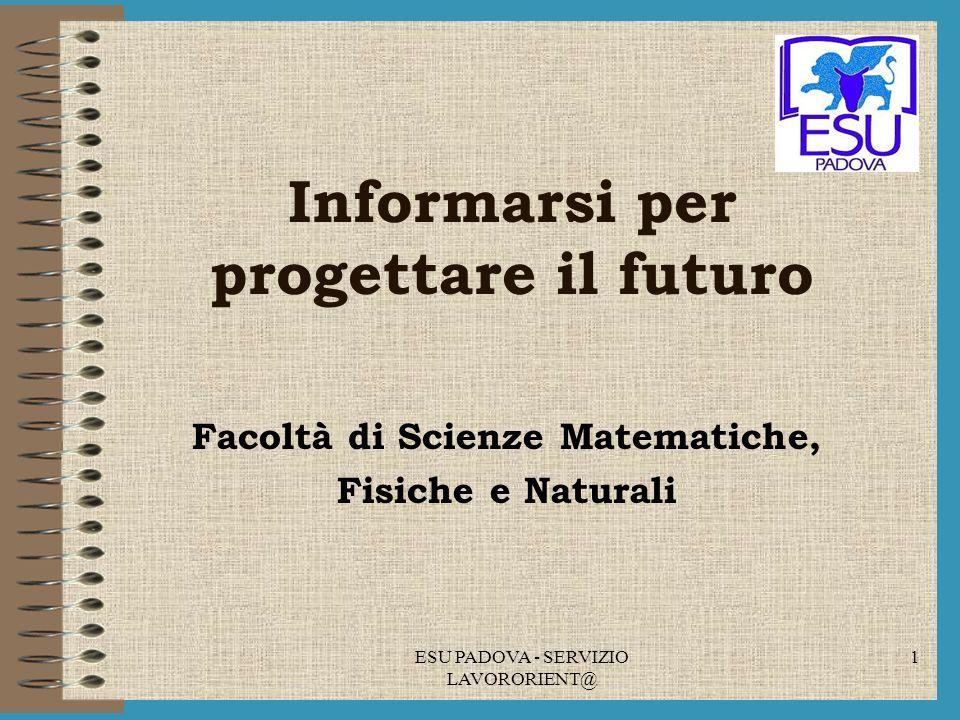 Informarsi per progettare il futuro