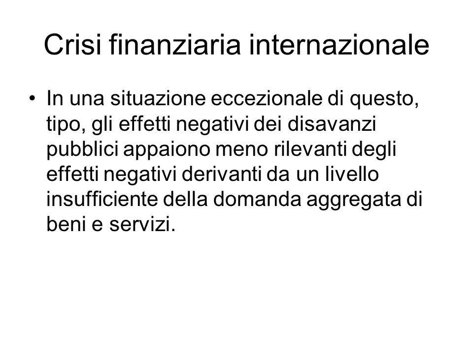 Crisi finanziaria internazionale