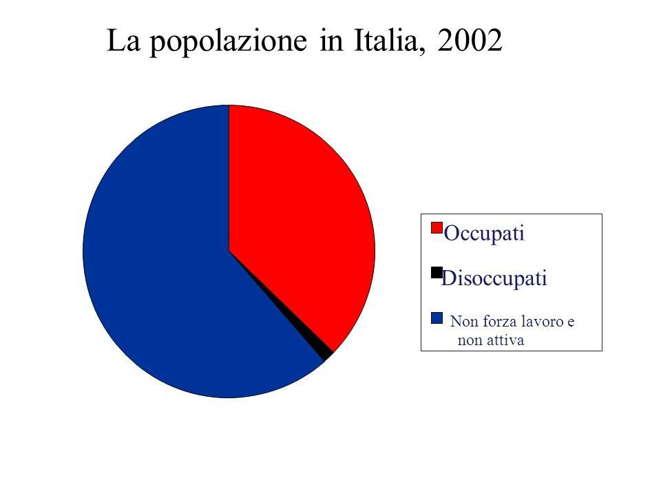 La popolazione in Italia, 2002