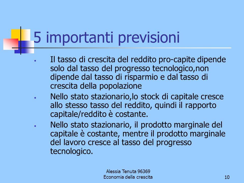 5 importanti previsioni