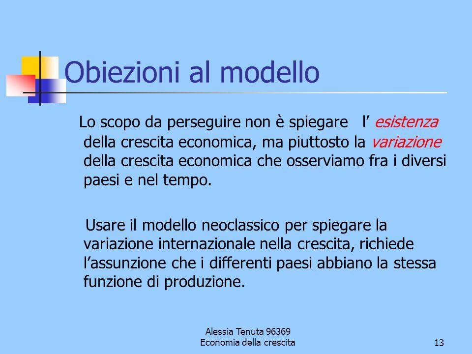Alessia Tenuta 96369 Economia della crescita