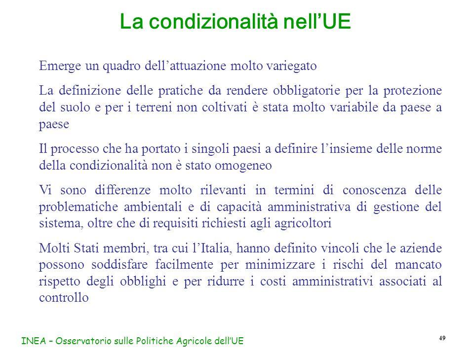 La condizionalità nell'UE