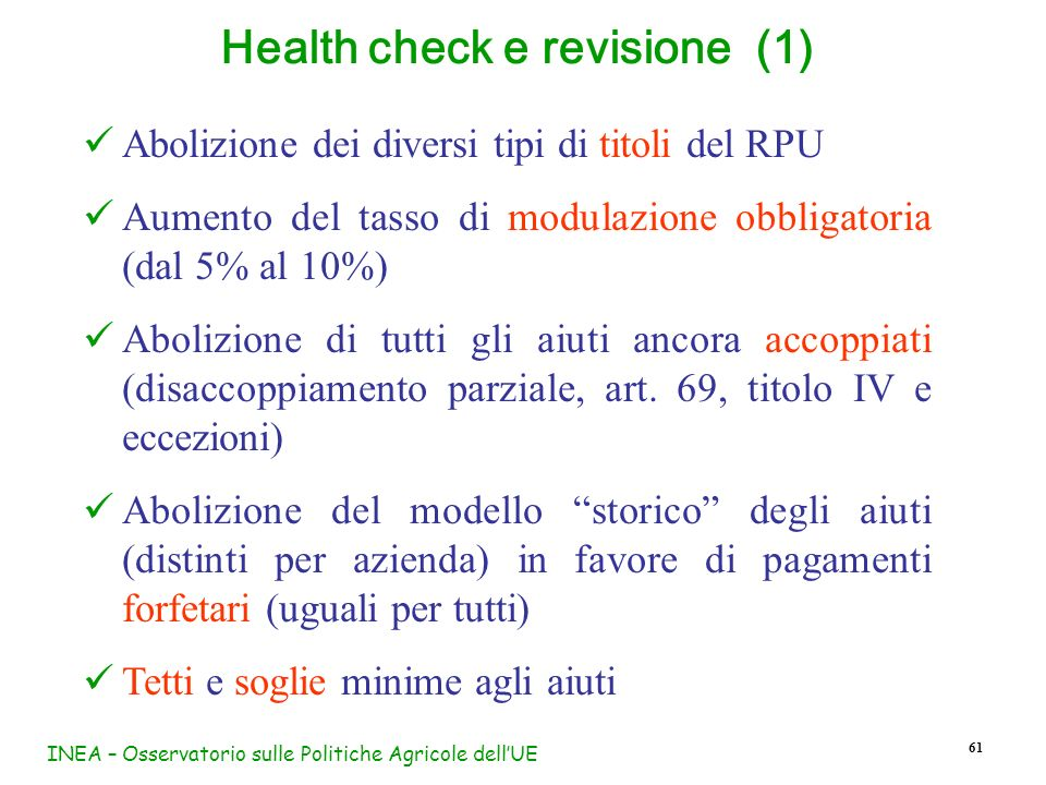 Health check e revisione (1)