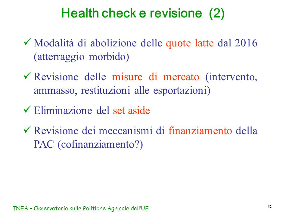 Health check e revisione (2)