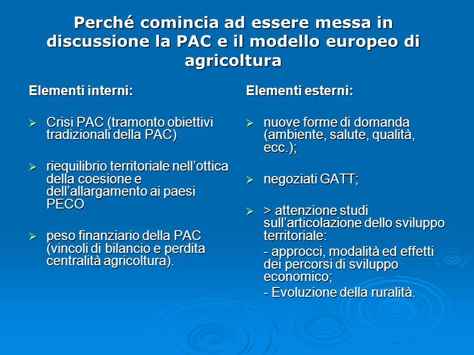 Perché comincia ad essere messa in discussione la PAC e il modello europeo di agricoltura