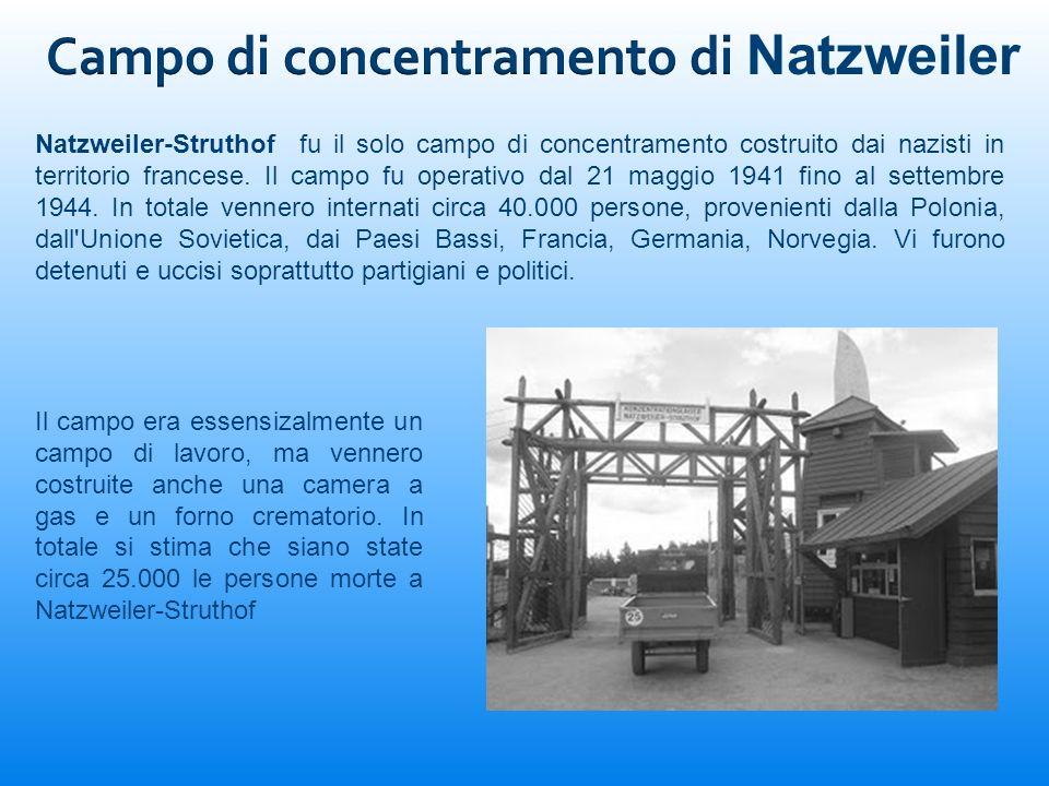 Campo di concentramento di Natzweiler