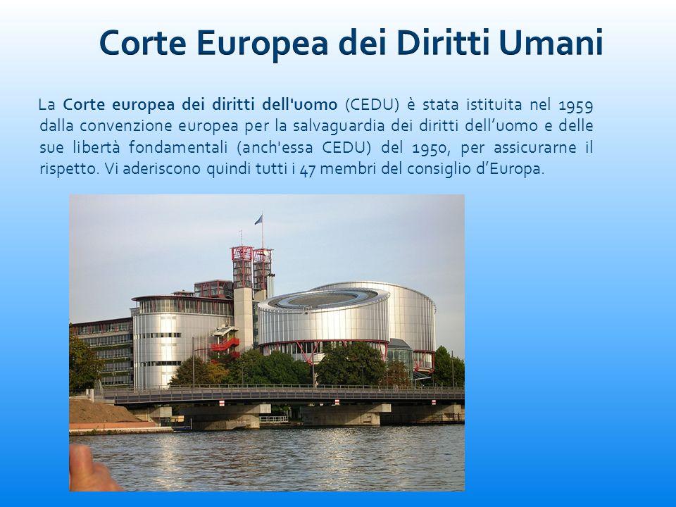 Corte Europea dei Diritti Umani