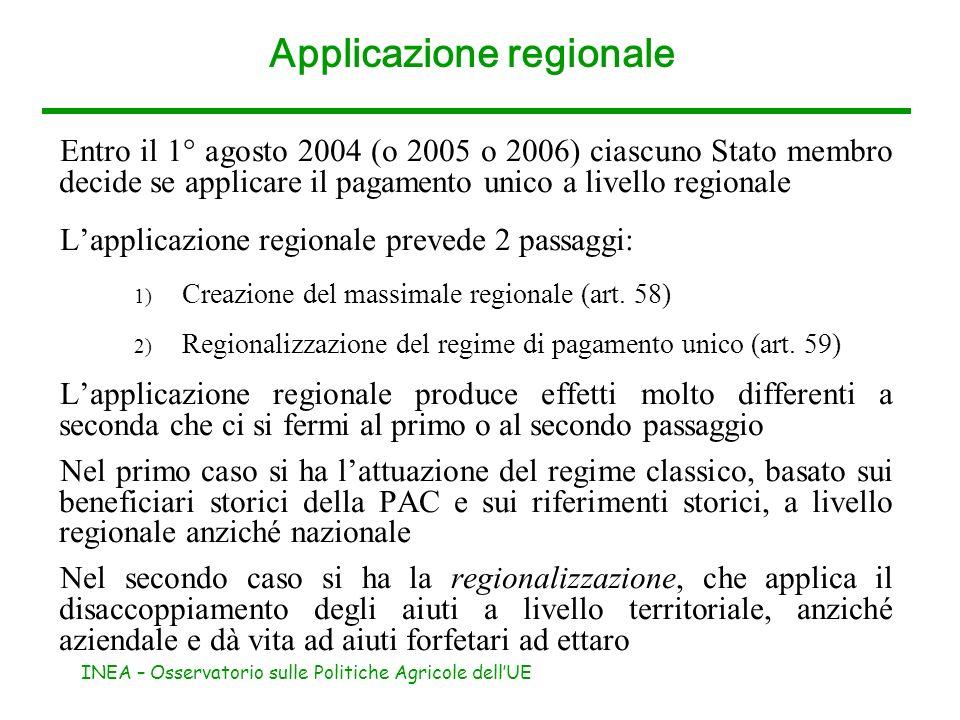 Applicazione regionale