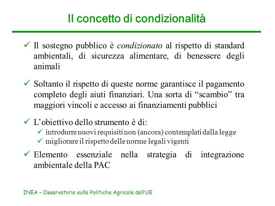 Il concetto di condizionalità