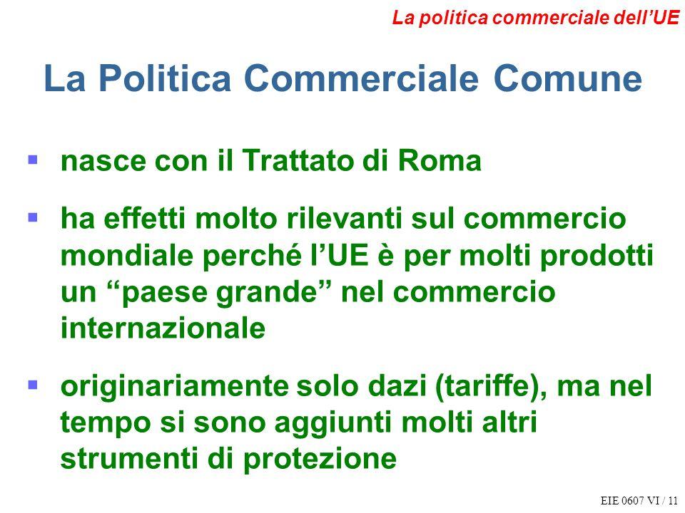 La Politica Commerciale Comune