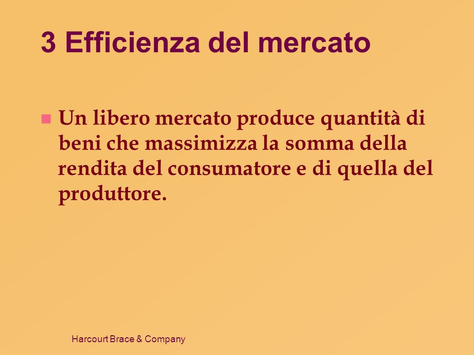 3 Efficienza del mercato