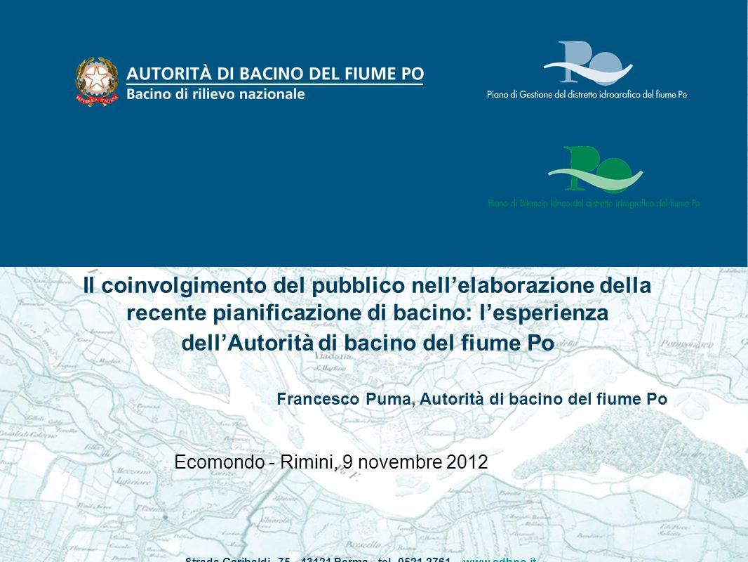 Strada Garibaldi, 75 - 43121 Parma - tel. 0521 2761 – www.adbpo.it