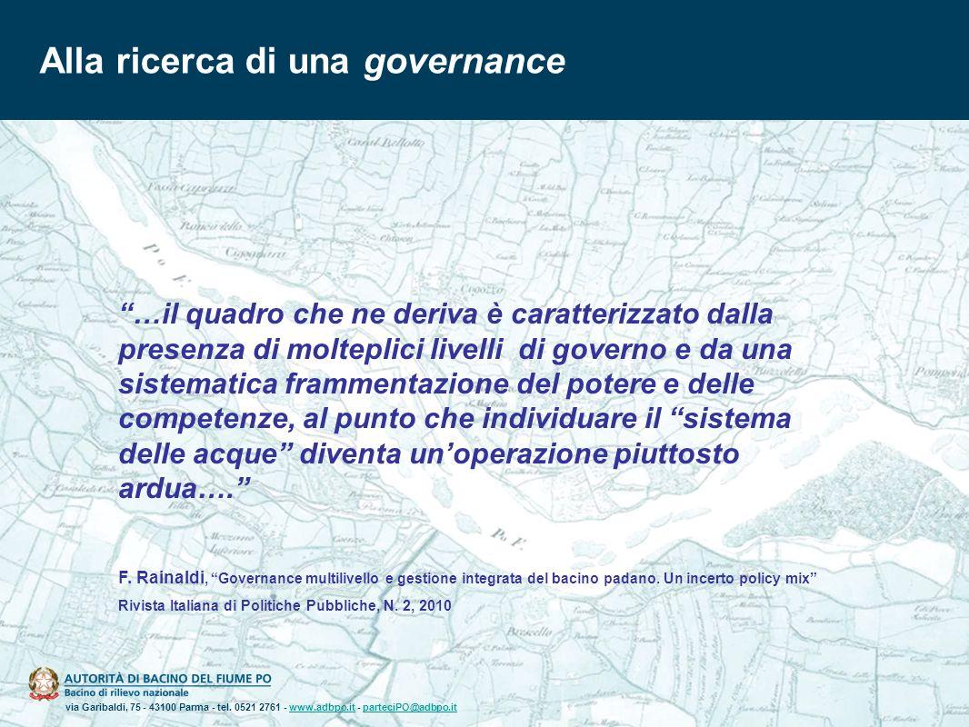 Alla ricerca di una governance