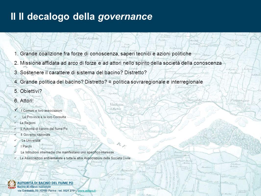 Il Il decalogo della governance