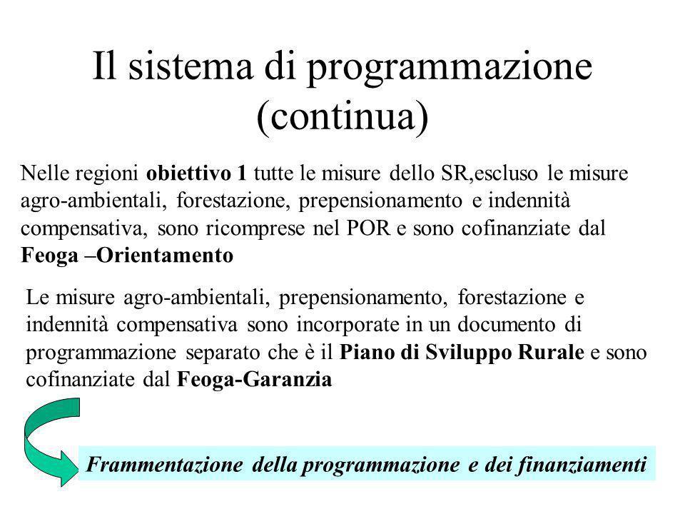Il sistema di programmazione (continua)
