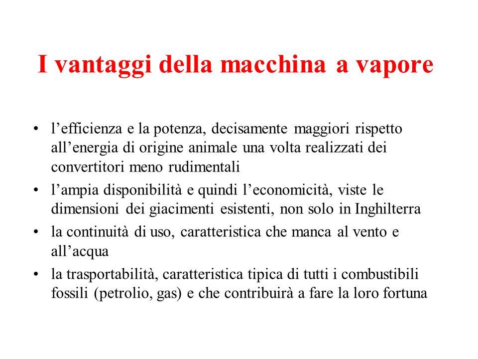 I vantaggi della macchina a vapore