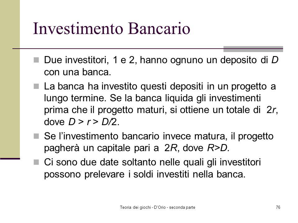 Investimento Bancario