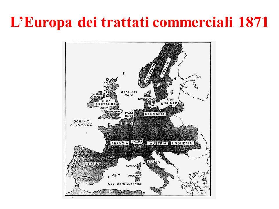 L'Europa dei trattati commerciali 1871