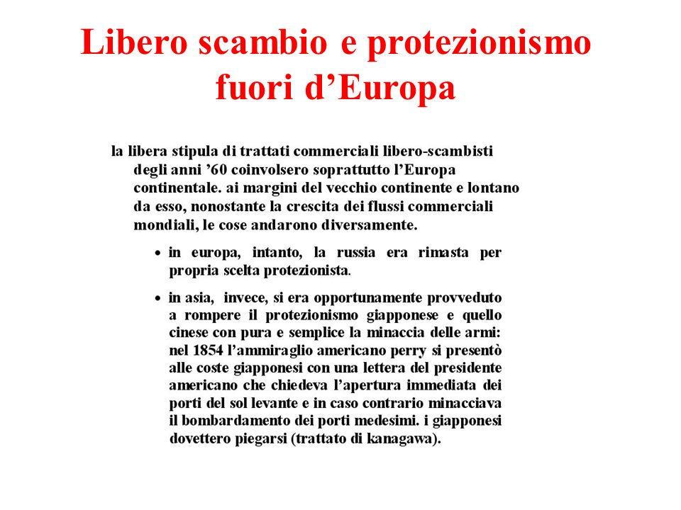 Libero scambio e protezionismo fuori d'Europa