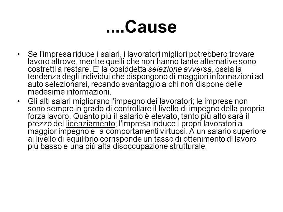 ....Cause