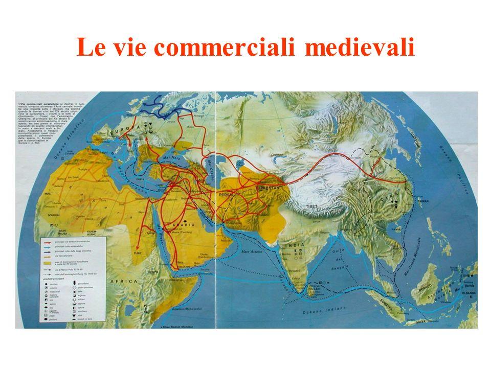 Le vie commerciali medievali