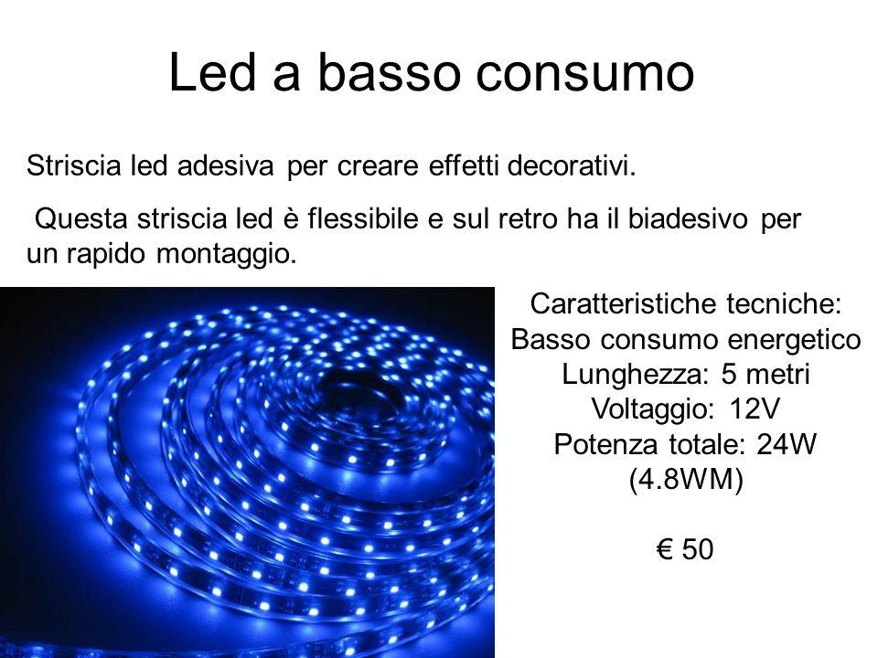 Led a basso consumo Striscia led adesiva per creare effetti decorativi.