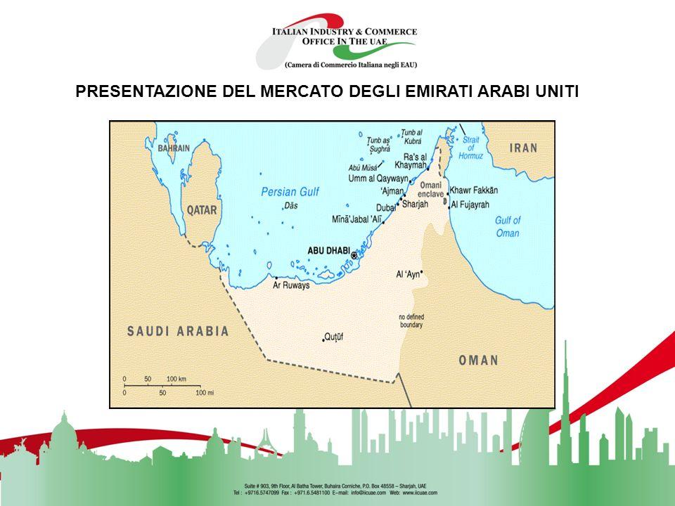 PRESENTAZIONE DEL MERCATO DEGLI EMIRATI ARABI UNITI