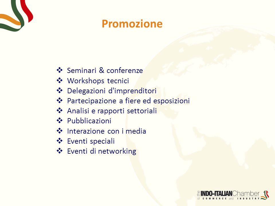 Promozione Seminari & conferenze Workshops tecnici