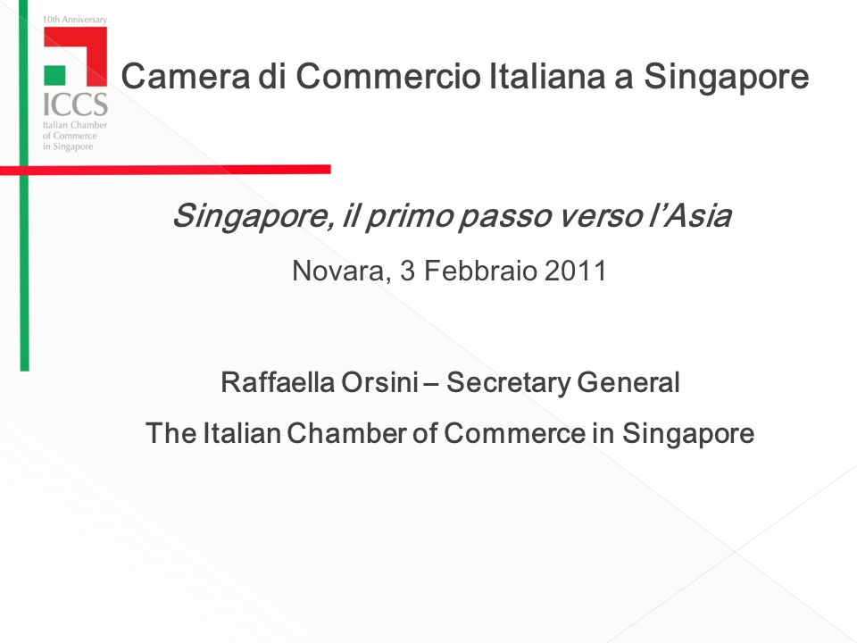 Camera di Commercio Italiana a Singapore