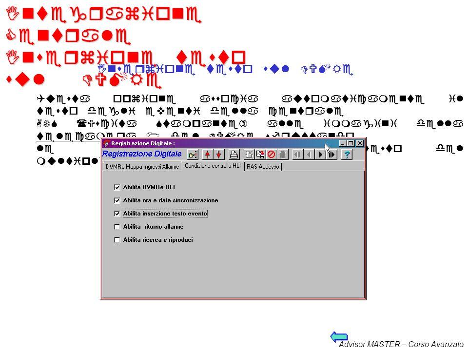 Integrazione Centrale Inserzione testo sul DVMRe