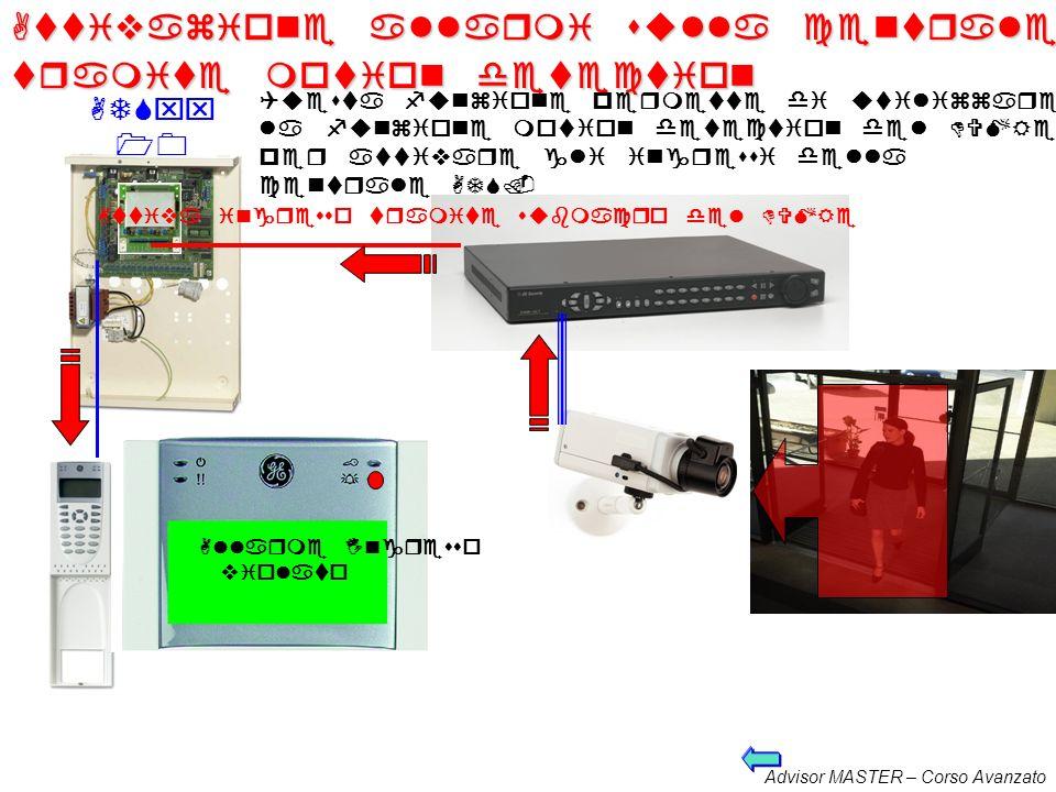 Attivazione allarmi sulla centrale tramite motion detection