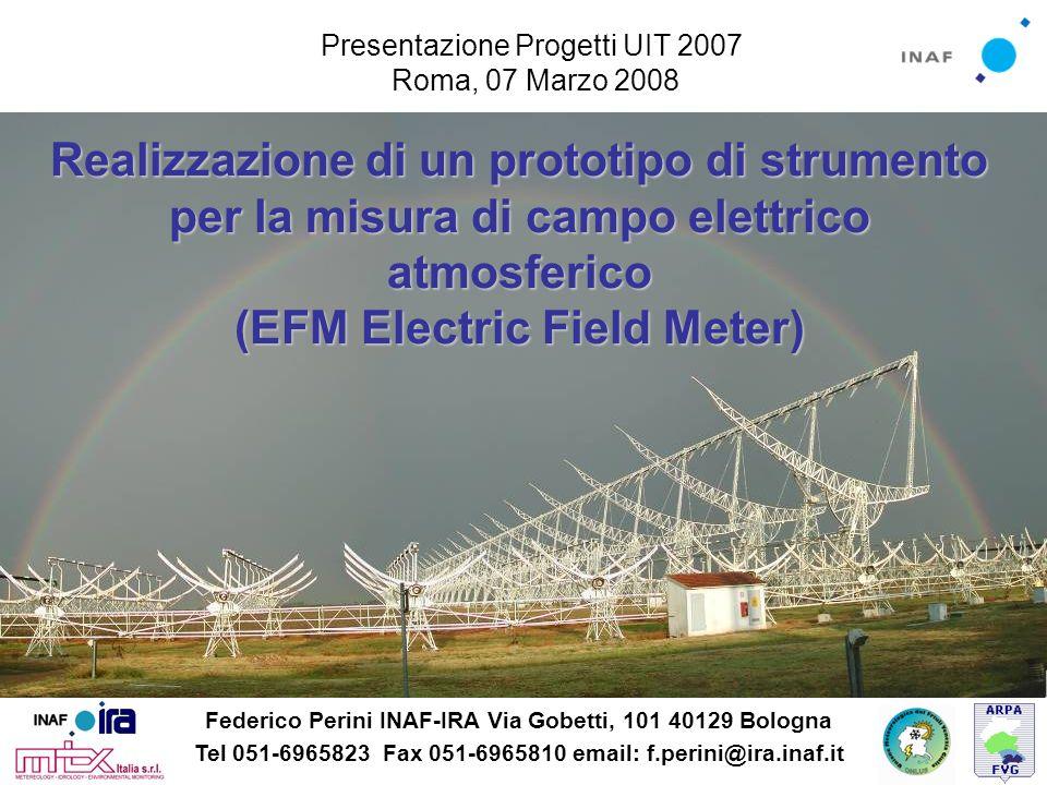 Presentazione Progetti UIT 2007